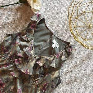 LOFT Petite Empire Dress